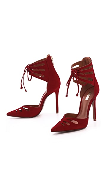 Schutz Nadely Cutout Pumps