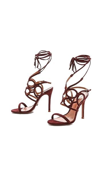 Schutz Naty Cutout Sandals