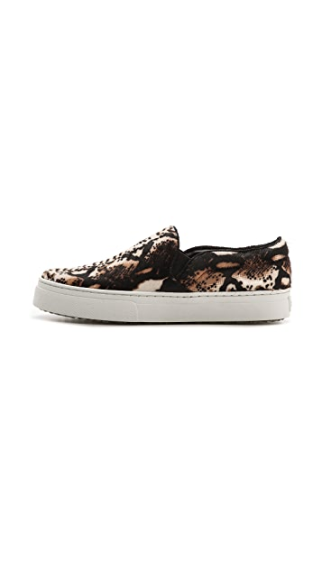 Schutz Amisha Haircalf Slip On Sneakers