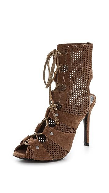 Schutz Pericia Suede Sandals