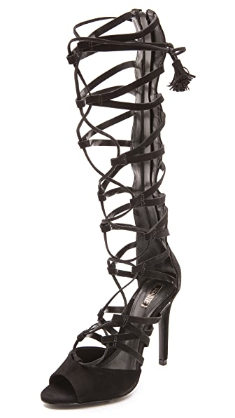 Schutz Zoneide Suede Gladiator Sandals | SHOPBOP