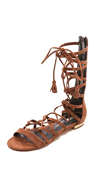 Schutz Billa Suede Gladiator Sandals