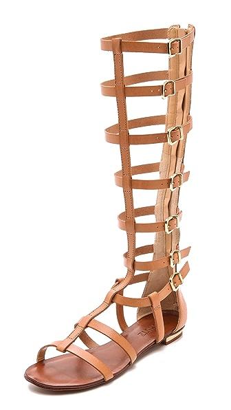 Schutz Cyby Flat Gladiator Sandals | SHOPBOP