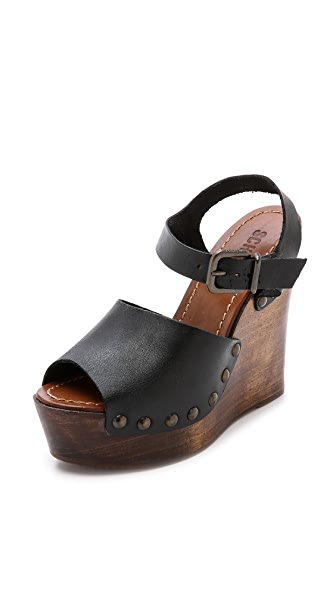 Schutz Emiliah Wedge Sandals