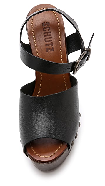Schutz Emiliah Wedge Sandals
