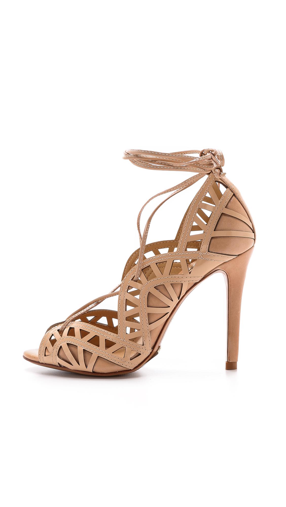 c07c5600452f Schutz Dubianna Lace Up Sandals