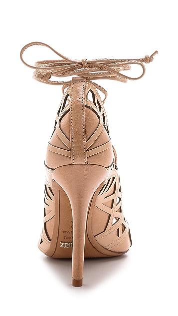 Schutz Dubianna Lace Up Sandals