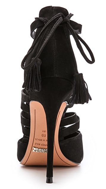 Schutz Zora Lace Up Pumps
