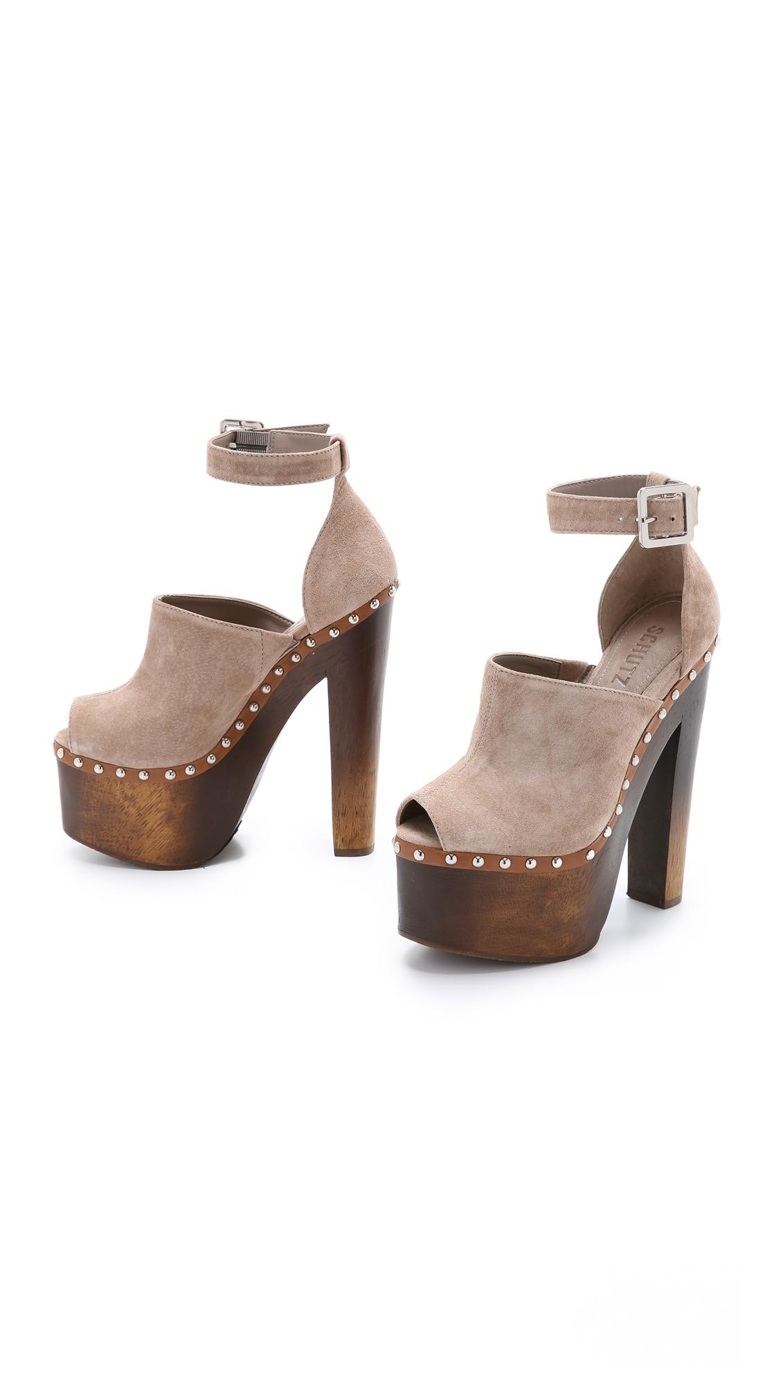 1623bed4bad0 Schutz Tyrone Platform Clog Sandals