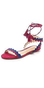 Leila Ankle Wrap Sandals                Schutz