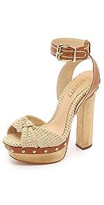 Dalla Platform Sandals                Schutz