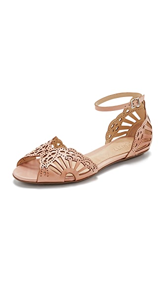 Schutz Illene Flat Sandals