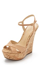 Emiliana Wedge Sandals                Schutz