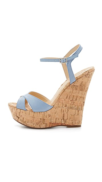 Schutz Emiliana Wedge Sandals
