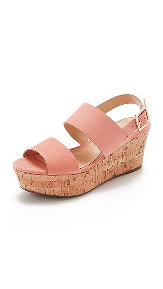 Schutz Fankia Sandals - Clay