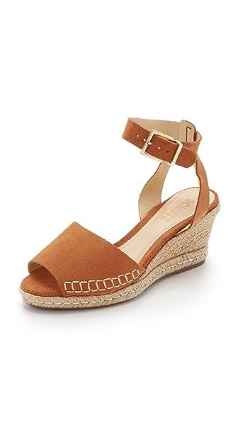 Schutz Geneva Wedge Espadrille Sandals