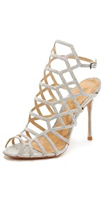Juliana Caged Sandals                Schutz