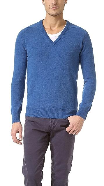Scott & Charters Slim Fit V Neck Sweater