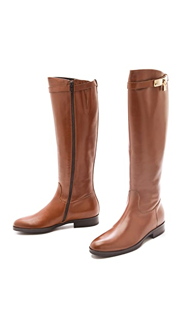 STEVEN DANN Katherine Flat Riding Boots