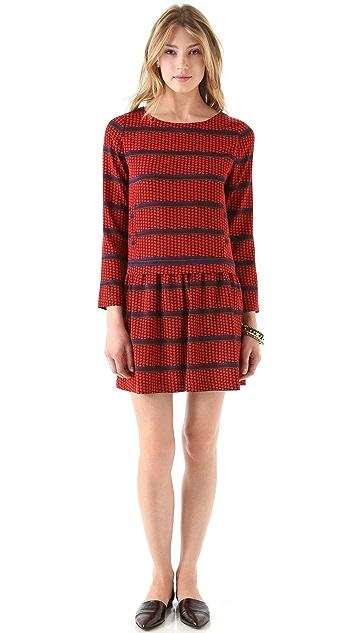 Sea 2 Pocket Long Sleeve Dress