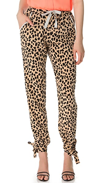 Sea Leopard Tie Pants