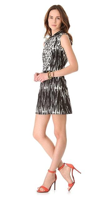 Sea Combo Collared Dress