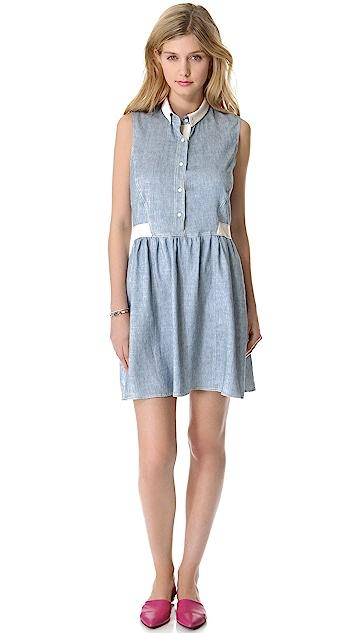 Sea Denim Sleeveless Dress