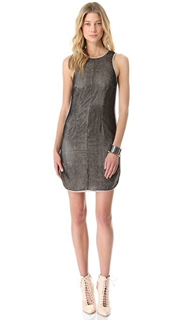 Sea Mesh Sheath Dress