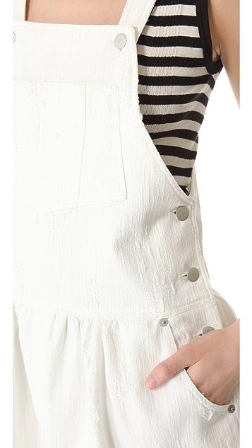 Sea Popover Overall Dress