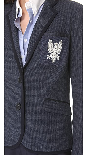 Sea Baby Flannel Gryphon Blazer