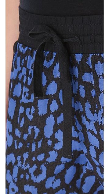 Sea Leopard Drawstring Pants
