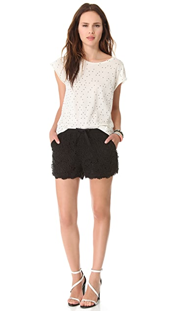 Sea Trimmed Shorts