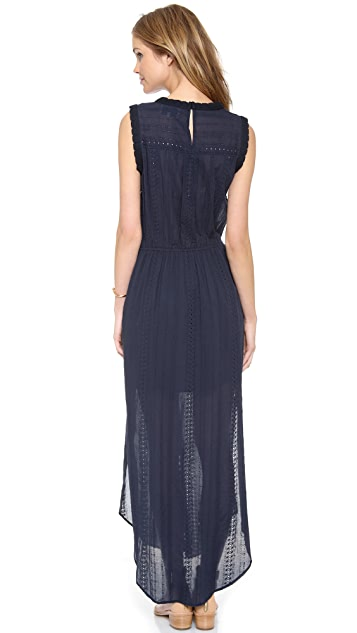 Sea Lace & Eyelet Long Dress