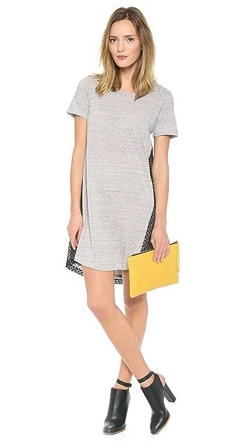 Sea Jersey Lace Dress