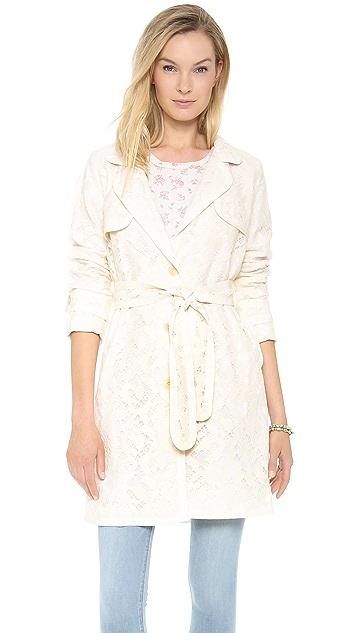 Sea Lace Overcoat