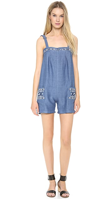Sea Denim Romper