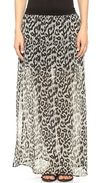 Sea Long Leo Skirt