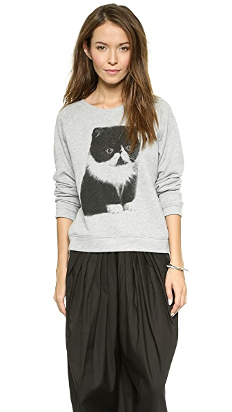 Sea Tomo's Cat Sweatshirt