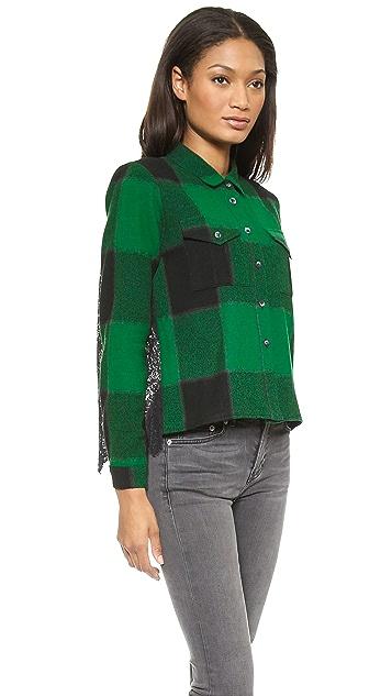 Sea Lace Combo Shirt