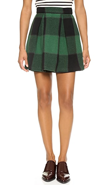 Sea Two Pleat Skirt
