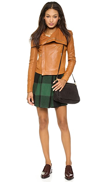 Sea Two Pleat Skirt