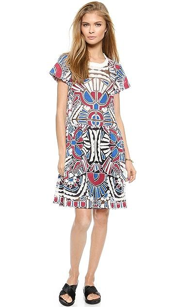 Sea Popover Dress