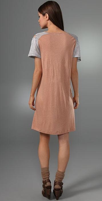 See by Chloe Mesh Shoulder Dress
