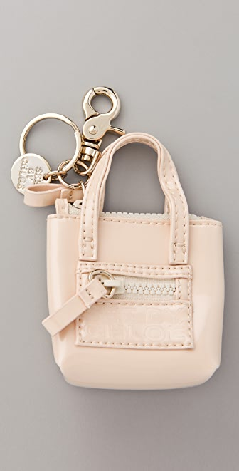 See by Chloe Zipfile Keychain