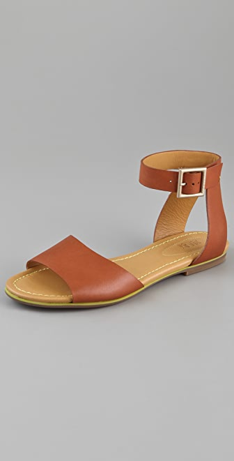 See by Chloe Broad Band Flat Sandals