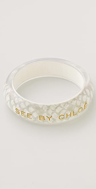 See by Chloe Print Bangle