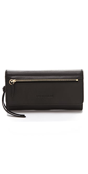 See by Chloe Arielle Long Wallet