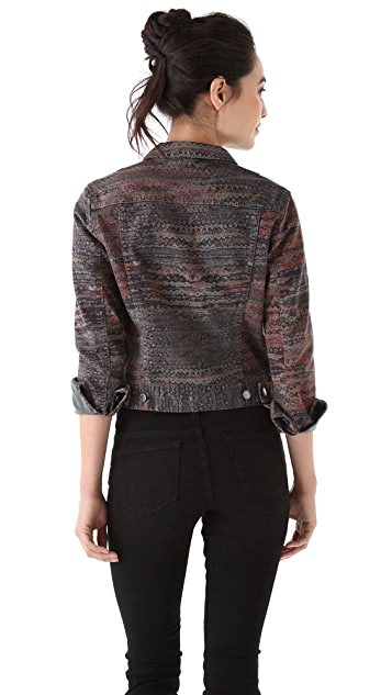 See by Chloe Front Pocket Cropped Jacket