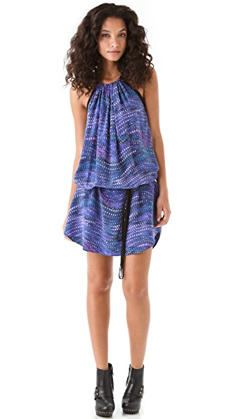 See by Chloe Halter Printed Dress