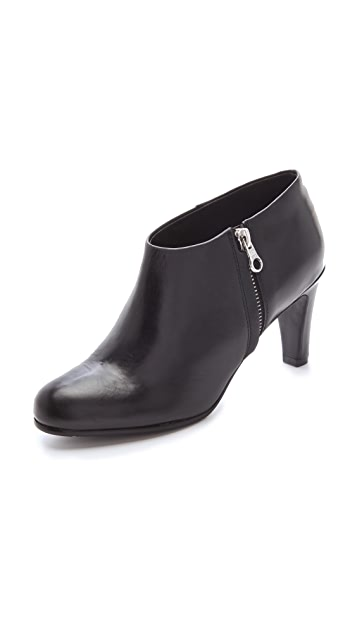 See by Chloe Two Tone Mid Heel Bootie